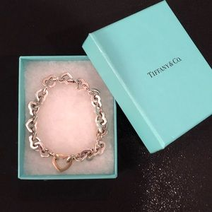 Tiffany & Co. Heart Link Bracelet